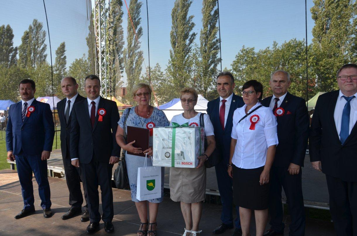 Sukces pań zKGW Grzybno na Dożynkach Województwa Kujawsko-Pomorskiego iDiecezji Włocławskiej
