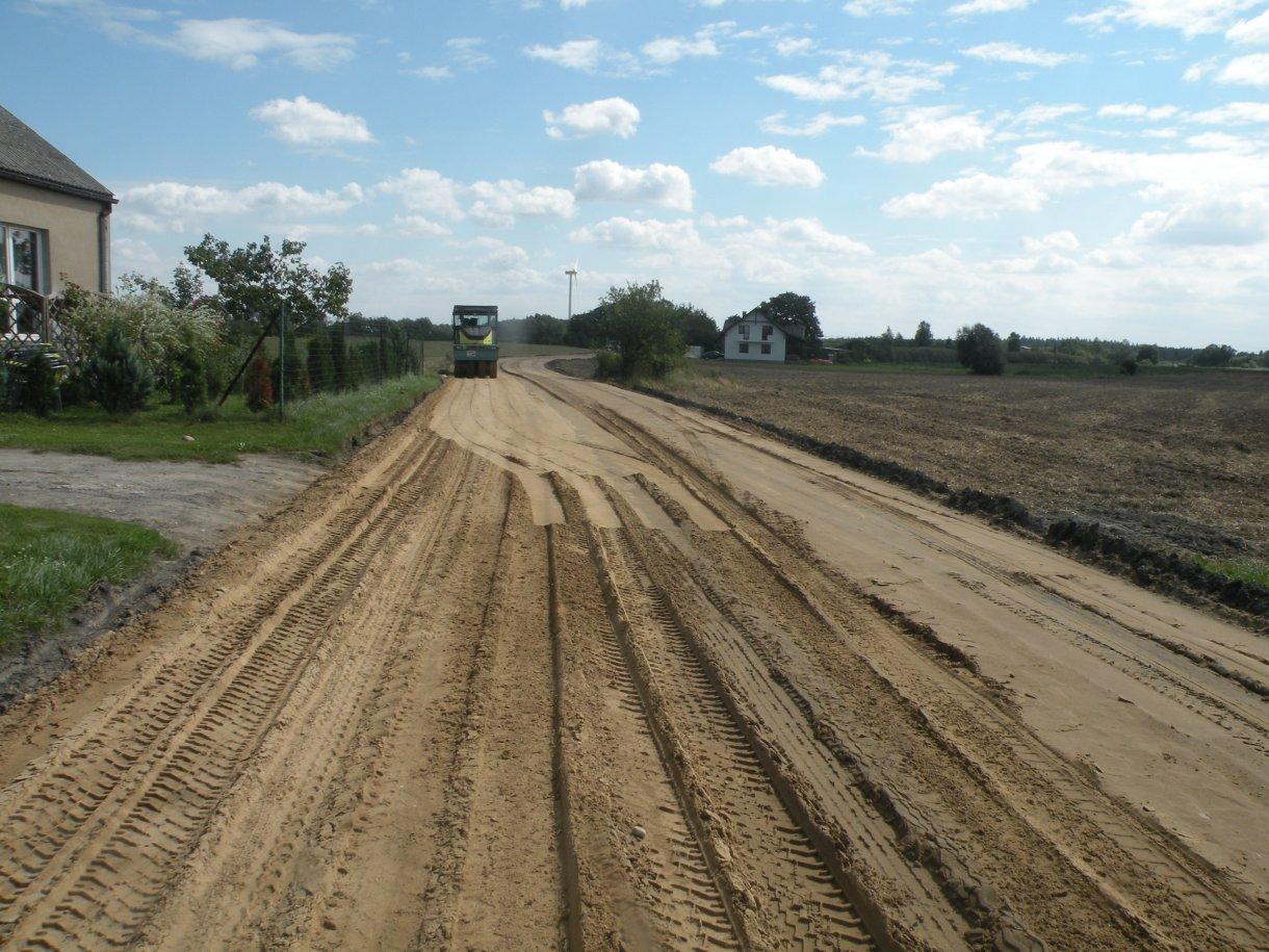 Rozbudowa drogi gminnej nr 080461C w miejscowości Drużyny
