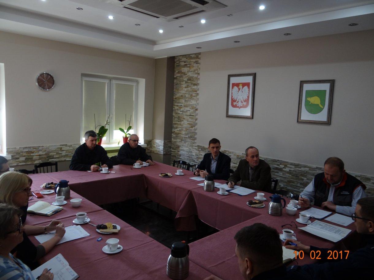 Informacja z posiedzenia Gminnego Zespołu Zarządzania Kryzysowego