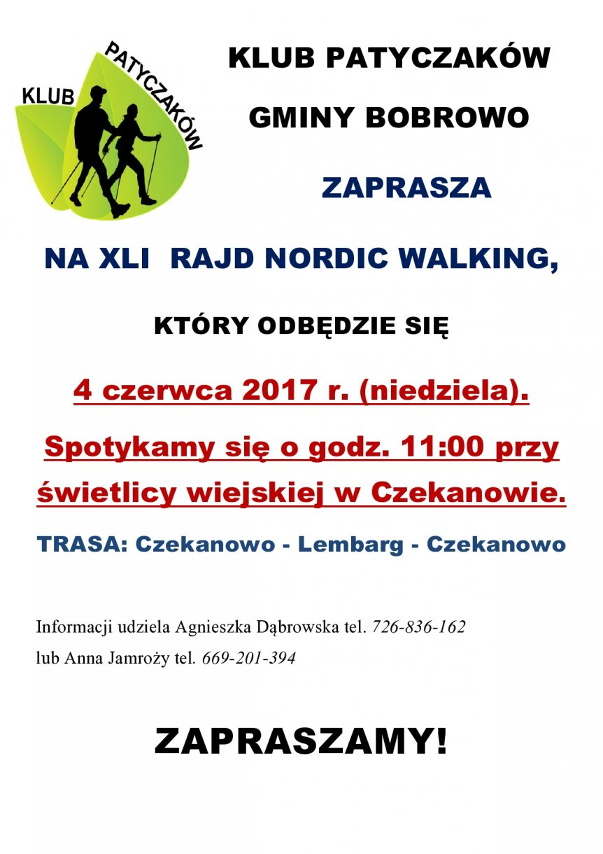 XLI Rajd Nordic Walking